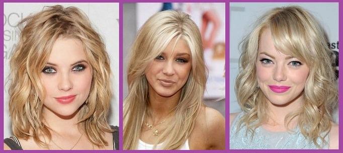Fotos peinados pelo rubio largo suelto y natural