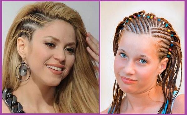 Peinados con trenza africana peinadosde10