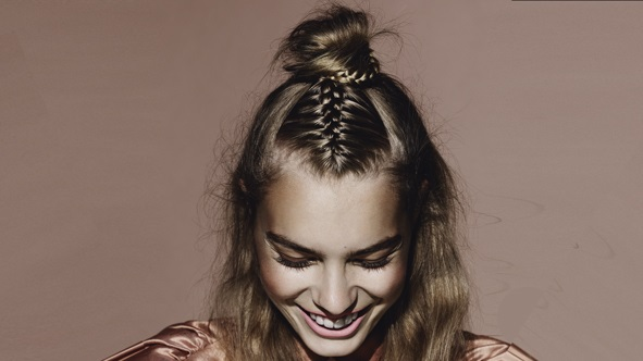 Peinados con trenzas de moda images - Peinados recogidos con trenzas ...