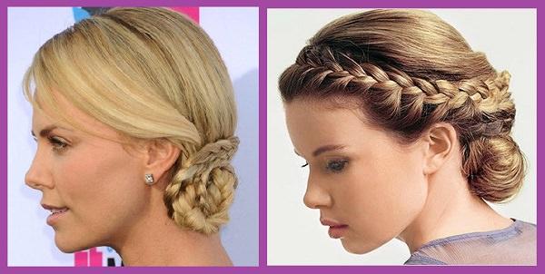 16 excelentes ideas de peinados f ciles para estar lista for Recogidos bonitos y sencillos