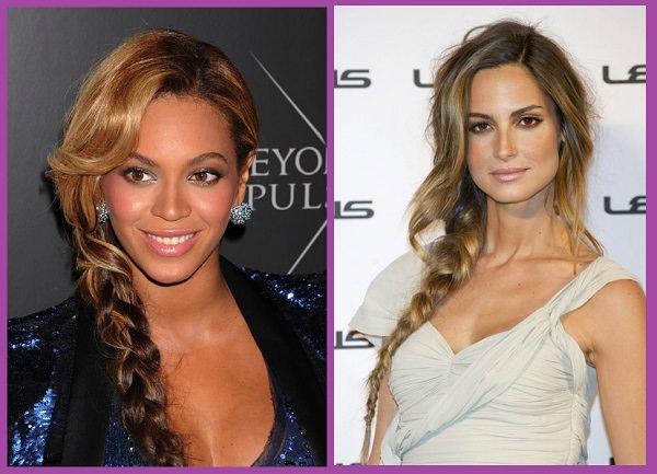 Peinados faciles con trenzas mujer - peinadosde10.com