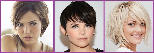para pelo corto de mujer peinados de cabello corto rostro redondo