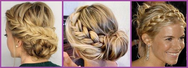 Peinados recogidos con trenzas de todos los estilos peinadosde10