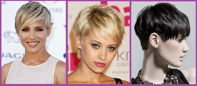 Peinados de cabello corto mujer