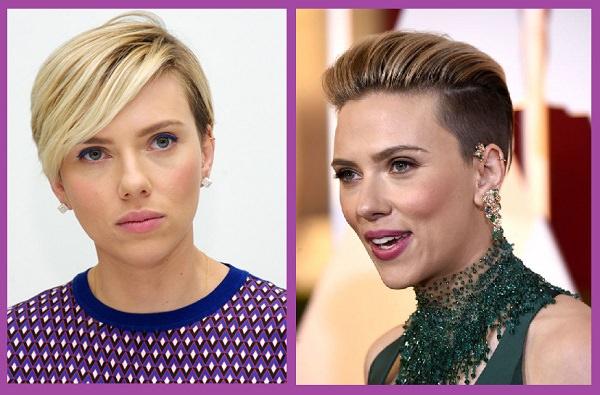 comparer les coiffures de visages en forme de diamant