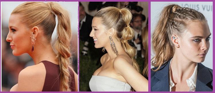 peinados recogidos en pelo largo
