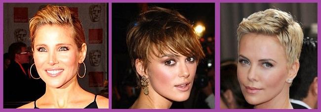 Peinados para primavera pelo corto o muy corto