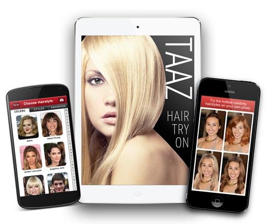 app para peinados Taaz