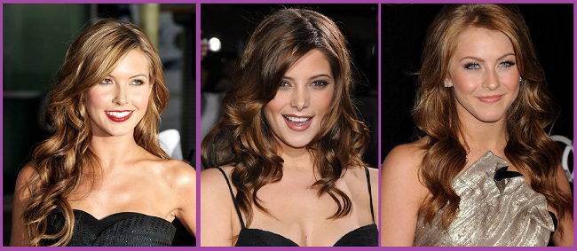 Peinados pelo rizado y ondulado mujer - peinadosde10.com