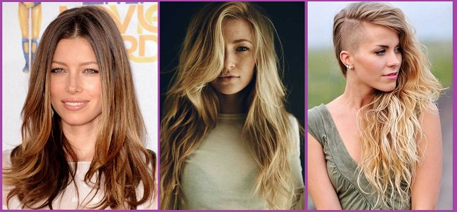Cortes de pelo y peinados verano pelo largo