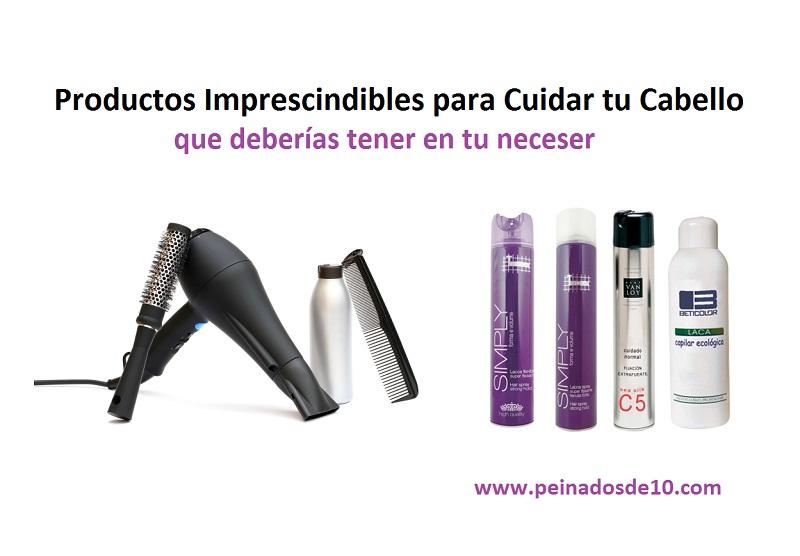 12 Productos Imprescindibles para cuidar tu cabello que deberías tener en tu neceser