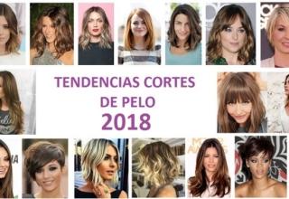 Peinados y cortes de pelo 2018