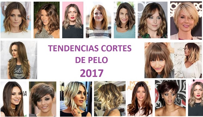 Peinados y cortes de cabello 2017