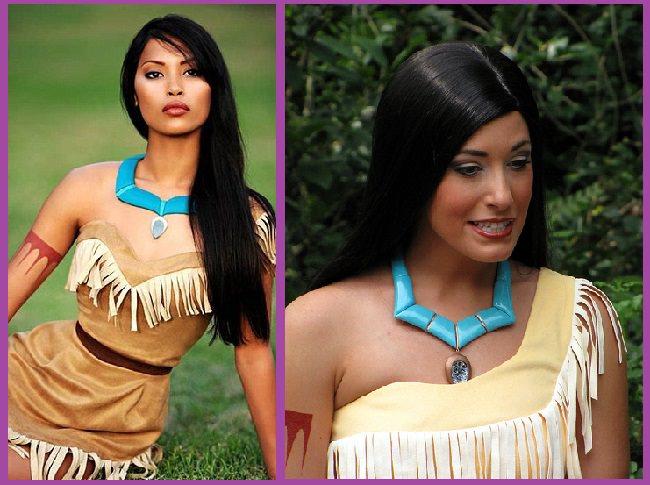 Peinado pocahontas india