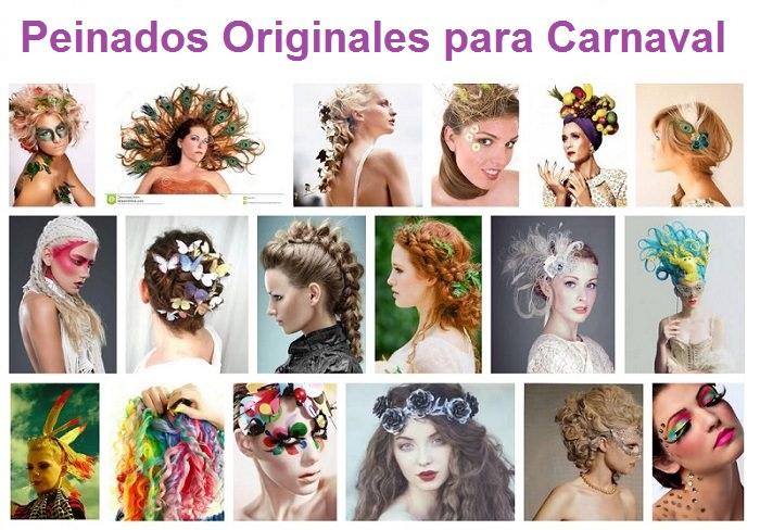 8 Ideas de Peinados para Carnaval que te sorprenderán