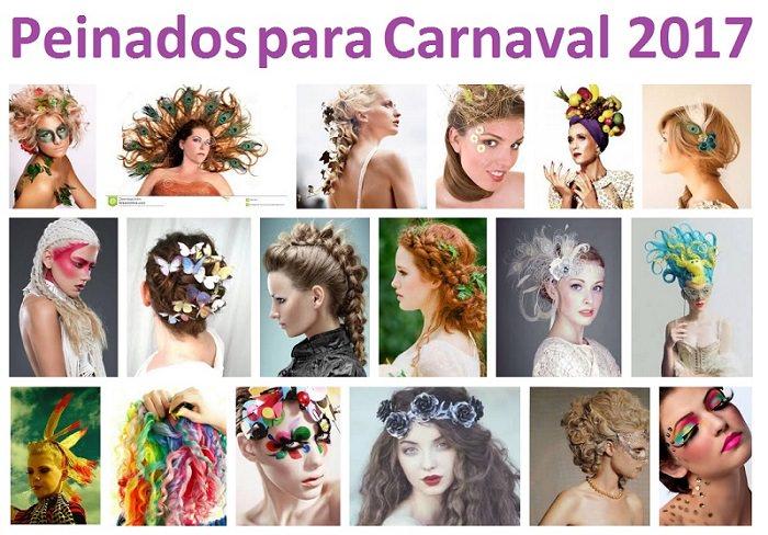 Peinados para carnaval 2017