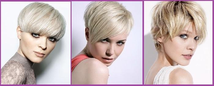 Peinados colores tintes rubio garson
