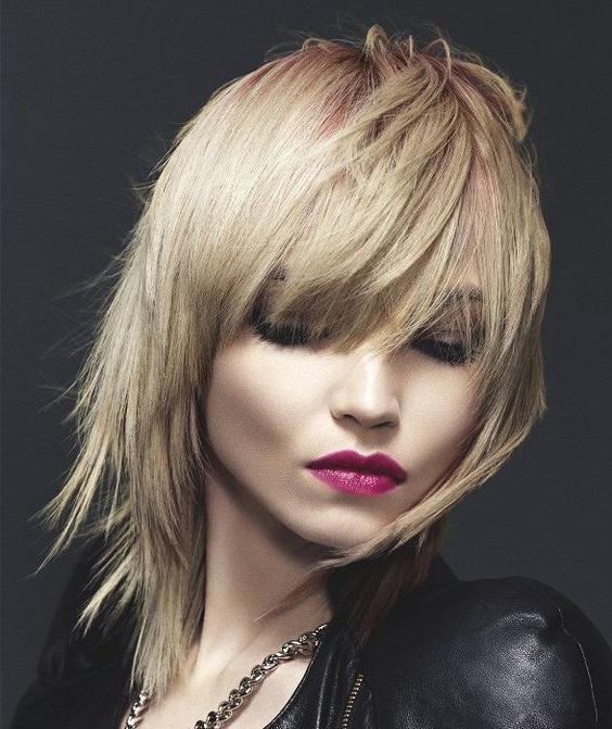 Peinados colores tintes rubio platino
