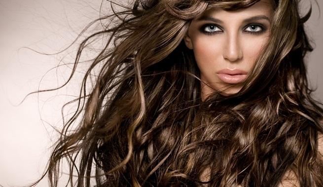 peinado melena con volumen