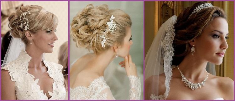 Peinado Semirecogido atrás novias bodas