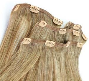 peinados con extensiones de clip