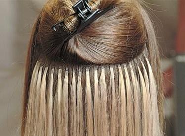 peinados con extensiones de keratina