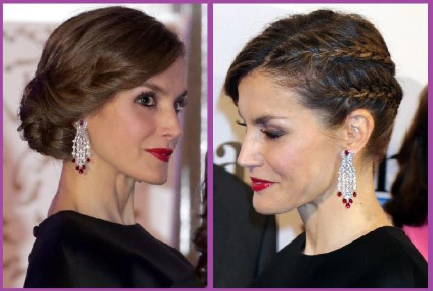 Peinados de la Reina Letizia que te Gustarán