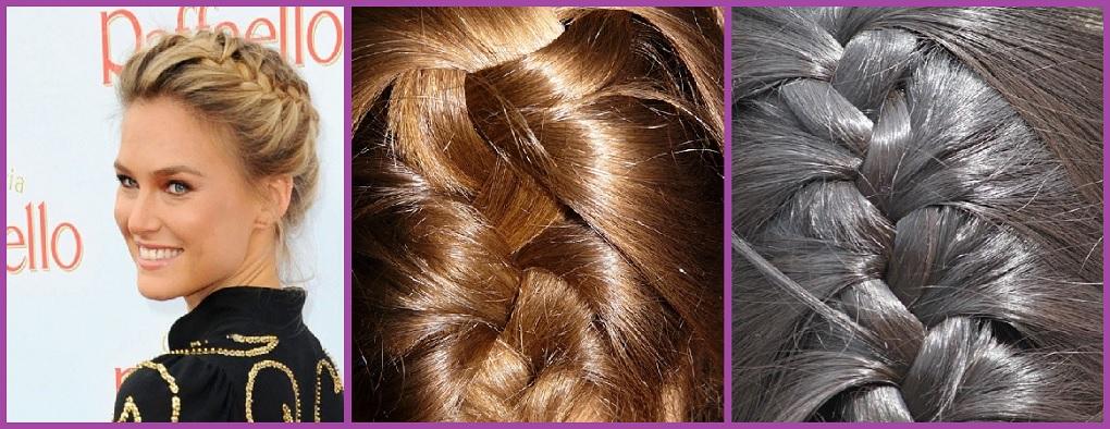 Trenza de raíz- 7 peinados con trenzas paso a paso