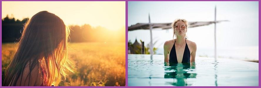 Cuidar tu cabello en verano- Utiliza protector solar sobre tu pelo