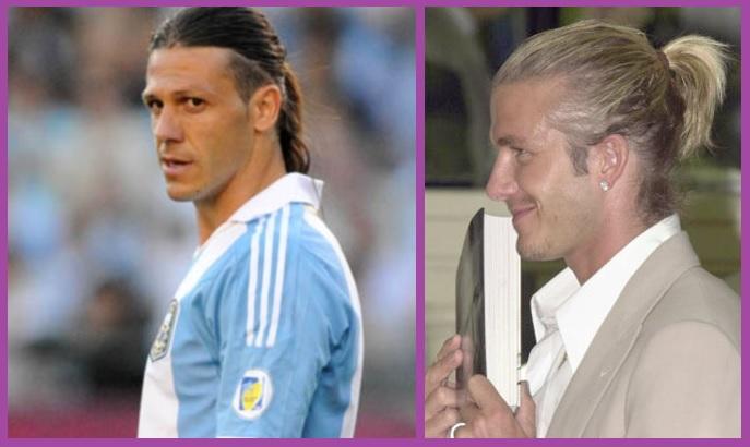 Coleta alta- Peinados para hombres con cabello largo