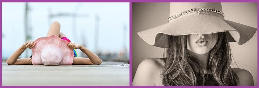 Cuidados cabello en verano- Tapa tu melena del sol