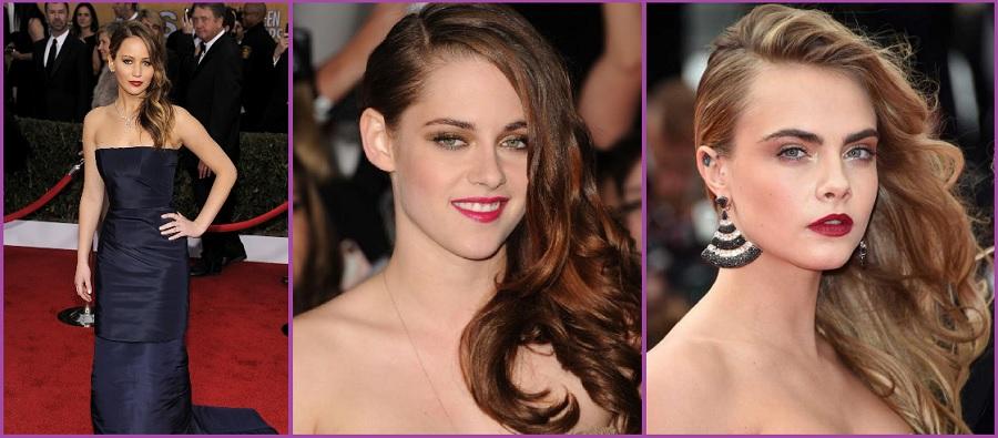 Semirecogido lateral- Peinados para fiestas de gala