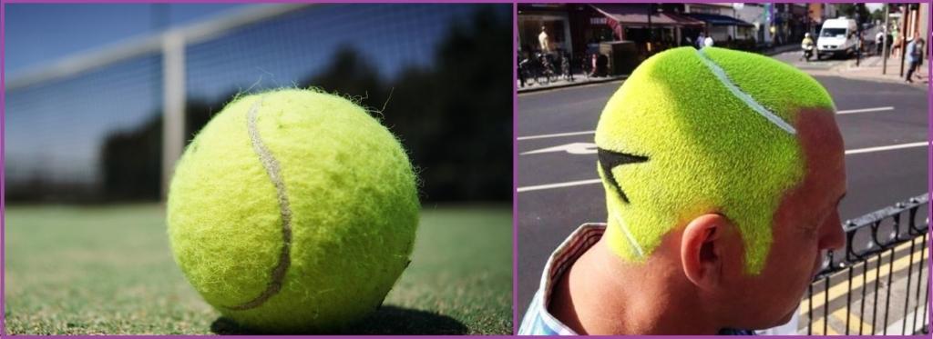 Corte de pelo Pelota de tenis- 12 cortes de pelo que no querrías ni para tu peor enemigo