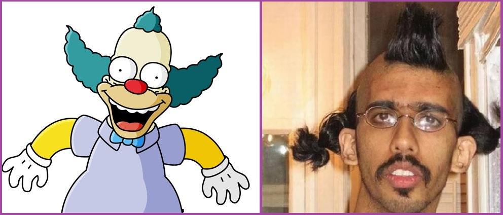 Corte de pelo Krusty el Payaso- 12 cortes de pelo que no querrías ni para tu peor enemigo
