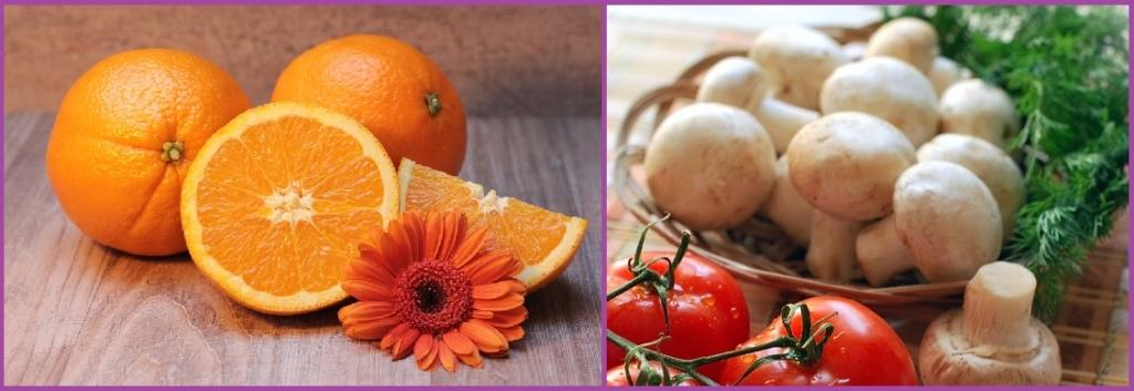 vitamina C para el pelo en naranjas - peinadosde10
