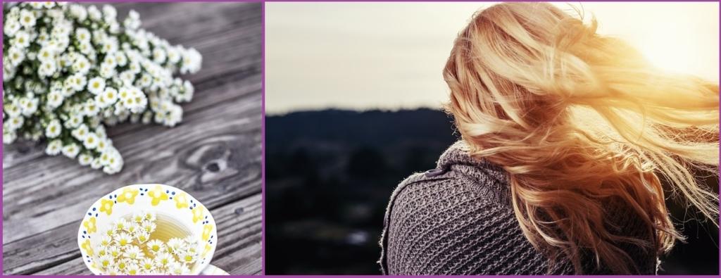 Manzanilla para aclarar el cabello- Trucos para mantener tu rubio natural sin tintes