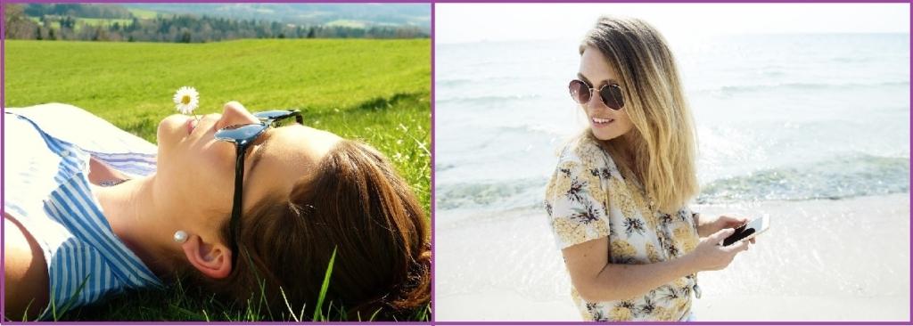 Vitamina C para proteger piel y cabello contra el sol- Peinados de 10