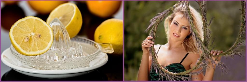 Zumo de limón para tu cabello rubio- Trucos para mantener tu rubio natural sin tintes