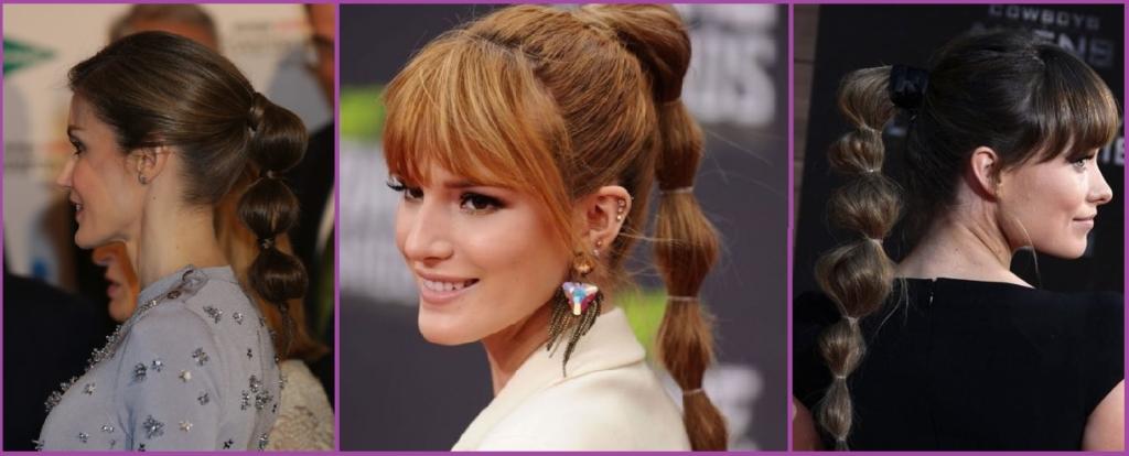Coleta de burbujas- Los 10 mejores peinados del 2017