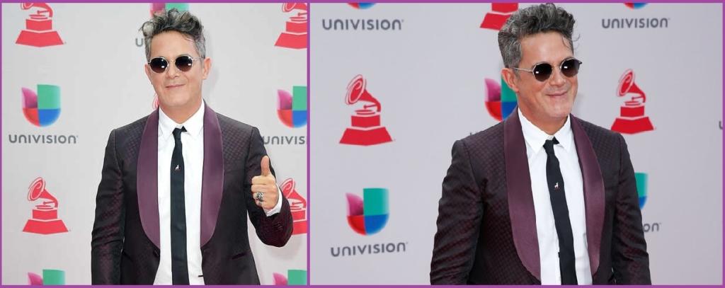 Alejandro Sanz Premios Latin Grammy- Los 10 peores peinados del 2017