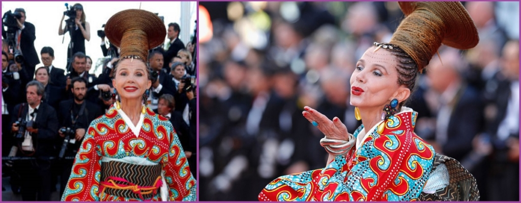 Victoria Abril en los premios Cannes del 2017- Los 10 peores peinados del 2017
