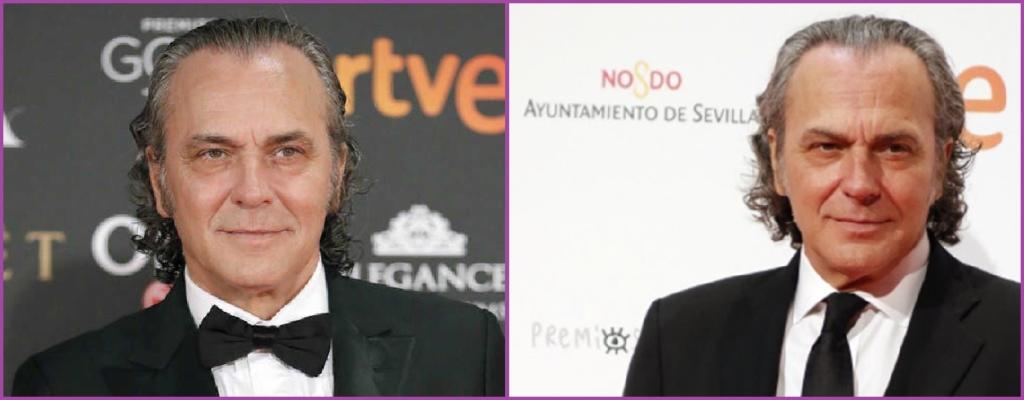 José Coronado- Peinados elegantes con canas para hombre