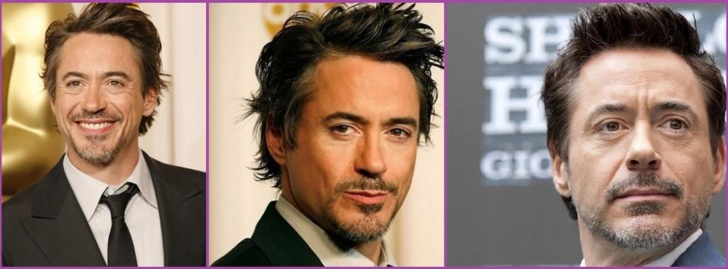 Robert Downey Jr. - Peinados elegantes con canas para hombre