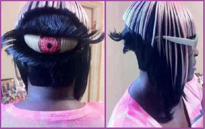 Ojos hasta en la nuca, literal- Los 14 cortes de pelo más ridículos que has visto