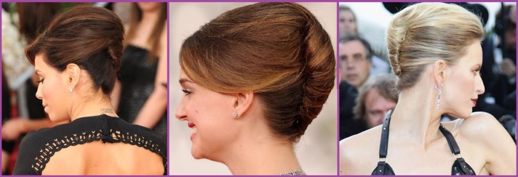 Moño italiano- Peinados que te harán parecer más mayor