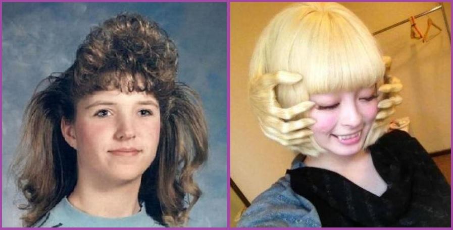 Los 90 fueron muy duros y masaje facial o película de terror- Los 14 cortes de pelo más ridículos que has visto