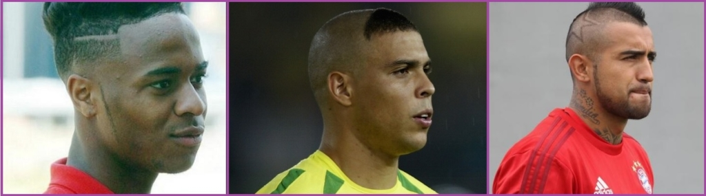 Raheem Sterling, Ronaldo y Arturo Vidal- Los 14 cortes de pelo más ridículos que has visto