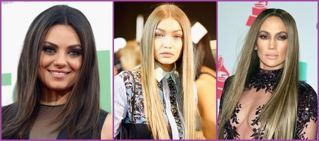 Cabello recto- Peinados que te harán parecer más mayor