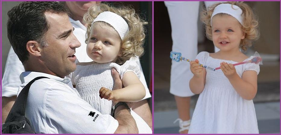 Diadema o pañuelo ancho- Peinados de la Princesa Leonor