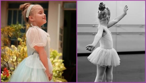 El moño alto es perfecto para cualquier evento- Peinados de evento para niñas